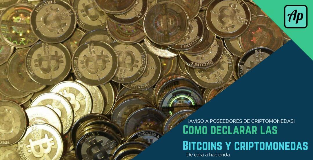 Como declarar las bitcoins y criptomonedas de cara a hacienda (1)