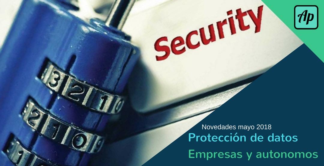 Protección de datos empresas y autonomos