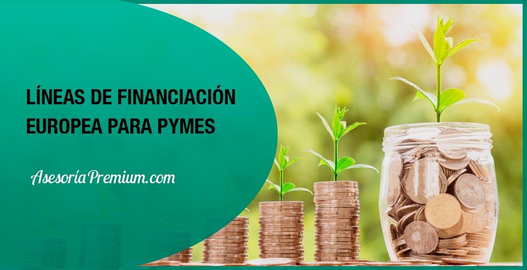 líneas de financiación europea para pymes
